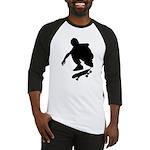 Skate On Baseball Jersey