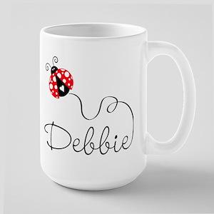 Ladybug Debbie Large Mug