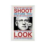 Cheney Shoot Rectangle Magnet