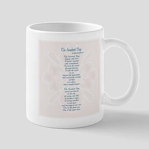 bridal shower poem sweetest day poem mug