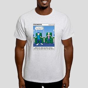 Pick Up Bald Chicks Ash Grey T-Shirt
