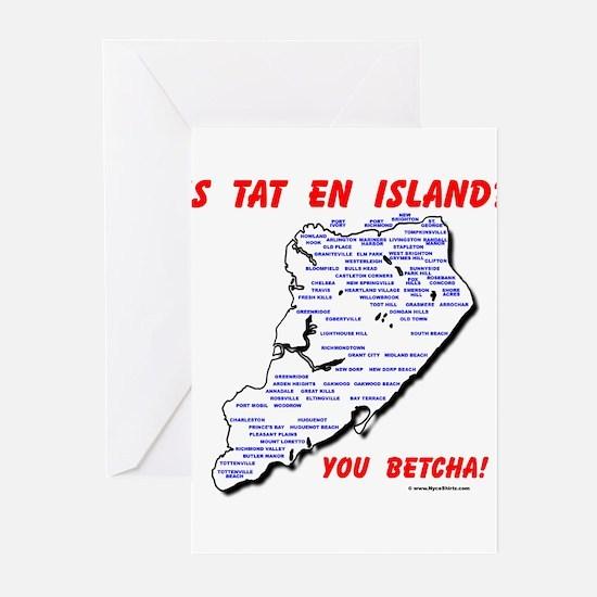 Staten Island Greeting Cards (Pk of 10)