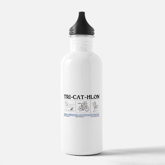 Catoons™ TRI-CAT-HLON™ Cat Water Bottle