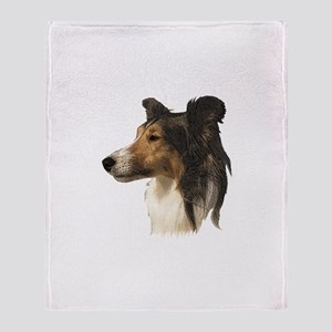 Shetland Sheepdog v3 Throw Blanket