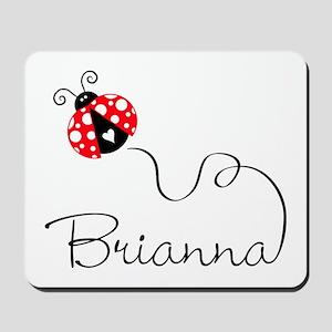 Ladybug Brianna Mousepad
