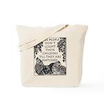 Patient People Tote Bag