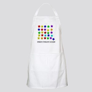 Speech Therapy Rules BBQ Apron