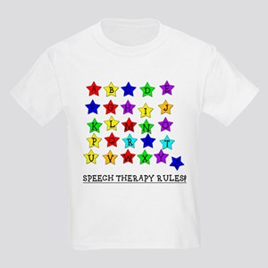 Speech Therapy Rules Kids T-Shirt
