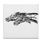 Racing Horses Tile Coaster