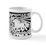 Pop Art Racehorse Mug
