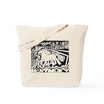 Pop Art Racehorse Tote Bag