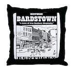 Historic Bardstown Throw Pillow