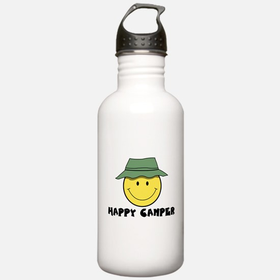 Happy Camper camping Water Bottle