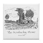 Kentucky Home Tile Coaster