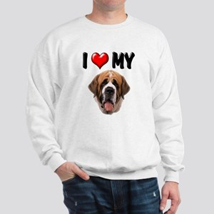 I Love My St. Bernard Sweatshirt