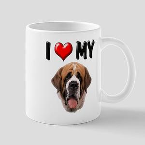 I Love My St. Bernard Mug