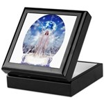 Winter Angel Keepsake Box
