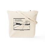 Truck Drivers Tote Bag