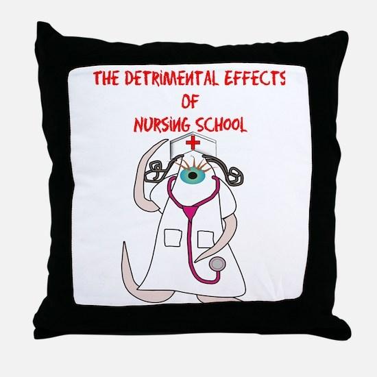 Nursing Student Throw Pillow