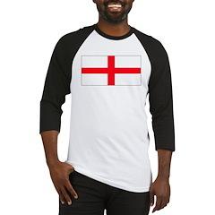 England English St. George Bl Baseball Jersey