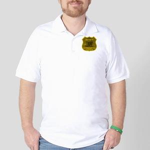 Waitress Caffeine Addiction Golf Shirt