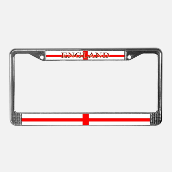 England English St. George License Plate Frame