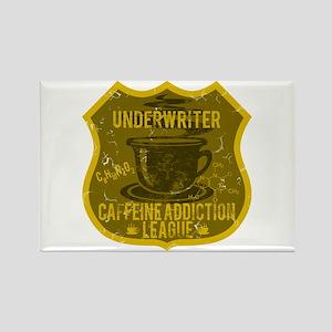 Underwriter Caffeine Addiction Rectangle Magnet