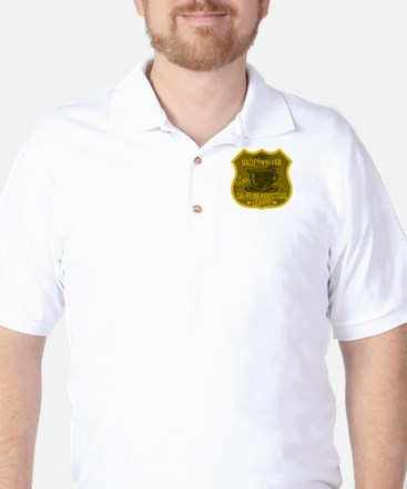 Underwriter Caffeine Addiction Golf Shirt
