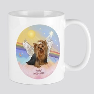 Yorkie Angel Dolly Mug