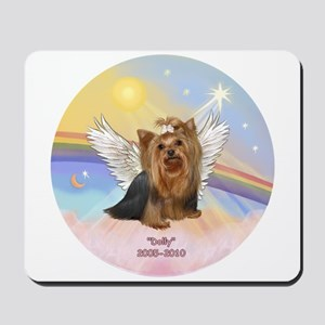 Yorkie Angel Dolly Mousepad