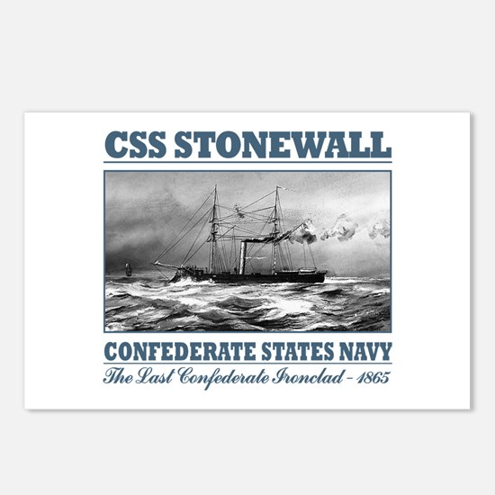 CSS Stonewall Postcards (Package of 8)