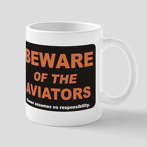 Beware / Aviators Mug