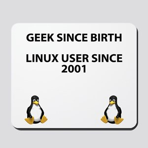 Geek since birth. Linux...2001 Mousepad
