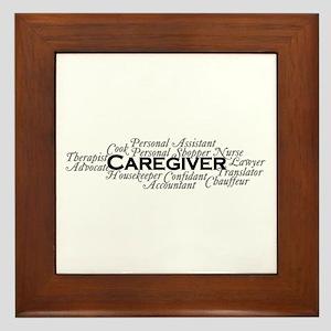 Caregiver Framed Tile