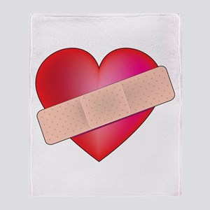 Healing Heart Throw Blanket