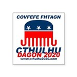 Covfefe Fhtagn Square Sticker 3