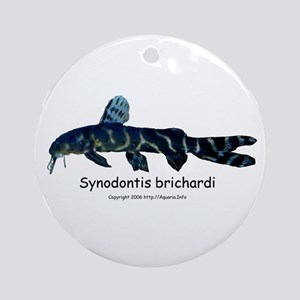 Synodontis brichardi Ornament (Round)