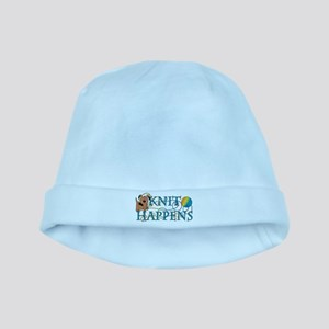 Knit Happens baby hat