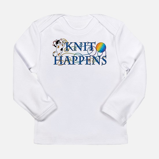 Knit Happens Long Sleeve Infant T-Shirt