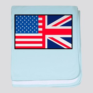 USA/Britain baby blanket
