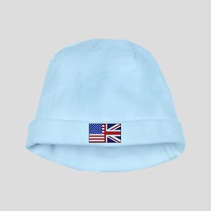 USA/Britain baby hat