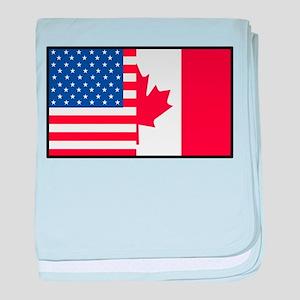 USA/Canada baby blanket