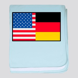 USA/Germany baby blanket