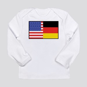 USA/Germany Long Sleeve Infant T-Shirt