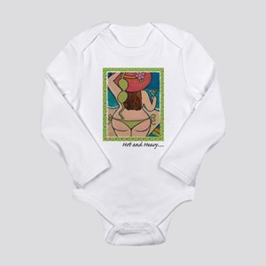 Hot and Heavy Long Sleeve Infant Bodysuit