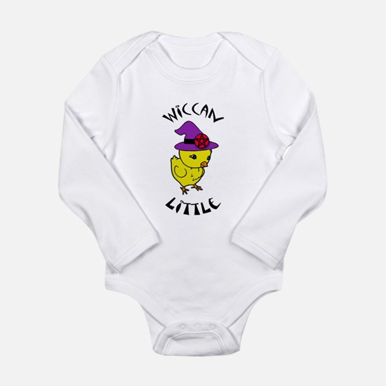 Wiccan Little Long Sleeve Infant Bodysuit
