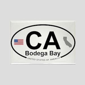 Bodega Bay Rectangle Magnet