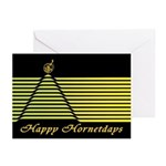 Happy Hornetdays Greeting Cards (Pk of 20)