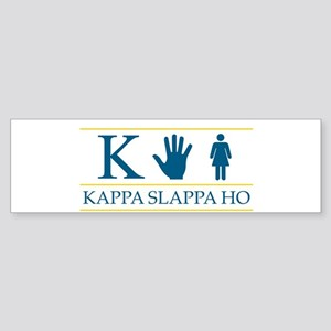 Kappa Slappa Ho (Original) Bumper Sticker