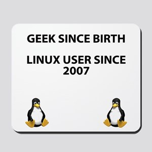 Geek since birth. Linux...2007 Mousepad